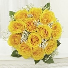 Image of Bouquet of yellow roses [local]