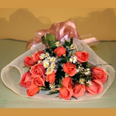 Image of Bouquet of pink roses